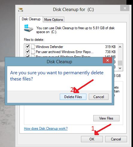 delete files to make pc fast