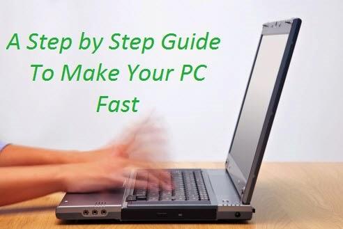make my pc fast