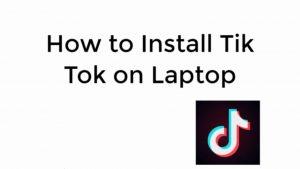 tiktok app for pc